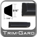 "9/16"" Wide Black Body Side Molding Sold by the Foot Trim Gard® #602-01"