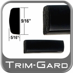 "9/16"" Wide Black Body Side Molding Sold by the Foot, Trim Gard® # C602-01"