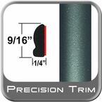 """9/16"""" Wide Green (Dark) Wheel Molding Trim ( PT78 ), Sold by the Foot, Precision Trim® # 9150-78-01"""