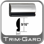 "9/16"" Wide Chrome Wheel Trim Sold by the Foot Trim Gard® #201-01"