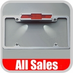 Brushed License Plate Frame