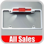 Polished License Plate Frame