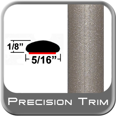"5/16"" Wide Beige Wheel Molding Trim (PT14) Sold by the Foot Precision Trim® #24200-14-01"