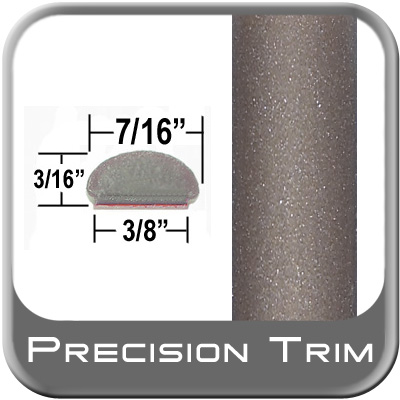 "7/16"" Wide Beige Wheel Molding Trim (PT66) Sold by the Foot Precision Trim® #2150-66-01"