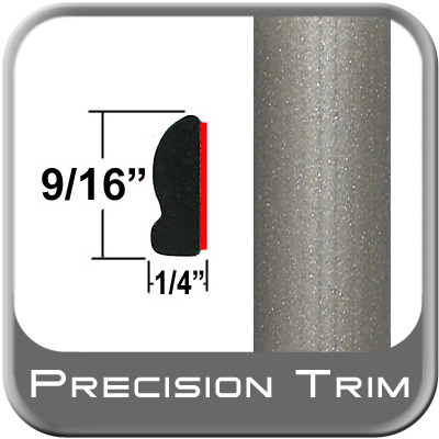 "9/16"" Wide Beige Wheel Molding Trim (PT48) Sold by the Foot Precision Trim® #9150-48-01"