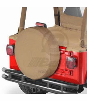 "Bestop Spice Spare Tire Cover Spice Color X-Large (31"" x 11"") #6103137"