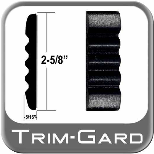"2-5/8"" Wide Black Body Side Molding Sold in 26 Foot Rolls Trim Gard® #TCT11NT-26"