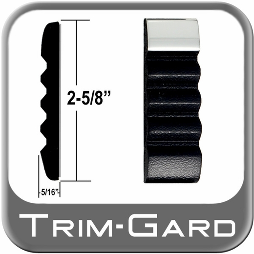 "2-5/8"" Wide Body Side Molding Sold by the Foot Trim Gard® #TCT11-01"
