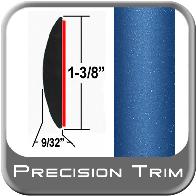 "1-3/8"" Wide Blue Molding Trim (PT41) Sold by the Foot Precision Trim® #17100-41-01"
