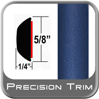 "5/8"" Wide Blue Wheel Molding Trim (PT52) Sold by the Foot Precision Trim® #37130-52-01"