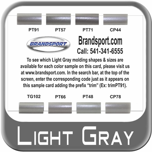 Free Trim Molding Color Sample Cards Only From BrandsportCom