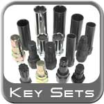 Brandsport® Master Wheel Lock / Lug Nut Keys w/Free Case 15, 17 or 19 Piece Kit #Keys