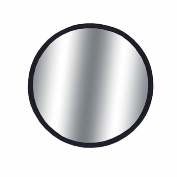 "CIPA 2"" Round Blind Spot Mirror 2"" Round, Black Backing Stick on, Convex Sold Individually #49102"