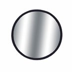 "CIPA 2"" Round Blind Spot Mirror 2"" Round, Black Backing Stick on, Convex #49102"