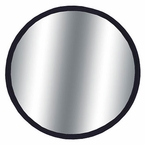 "CIPA 3-3/4"" Round Blind Spot Mirror 3-3/4"" Round, Black Backing Stick on, Convex #49302"