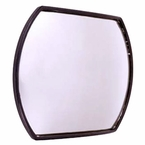 "CIPA Blind Spot Mirror 4 x 5-1/2"", Black Backing Stick on, Convex #49402"
