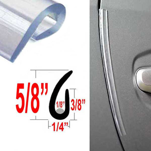 \ U\  Style Clear Style Guard Door Protectors Set of 2 Cowles\u0026reg; ...  sc 1 st  Brandsport & Clear \
