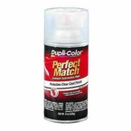 Clear Perfect Match® Clear Coat Spray Paint 8 ounce DupliColor #BCL0125