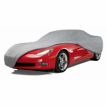 """CoverKing Car Cover Gray Color Triguard Material For Sedans up to 13' 1"""" Long #UVCCAR1I98"""