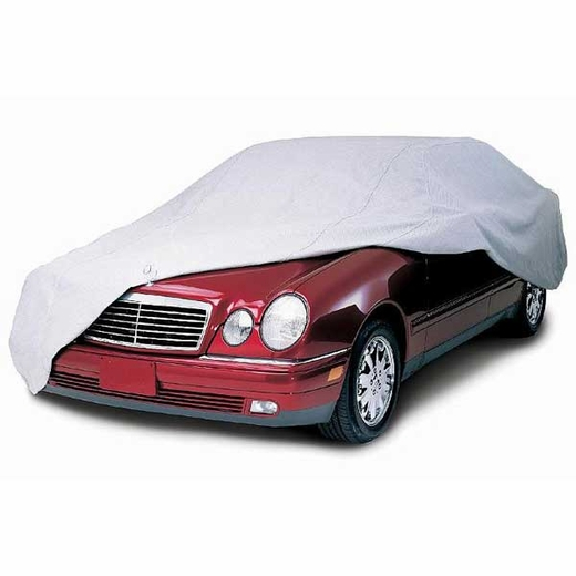 """CoverKing Car Cover Gray Color Coverbond 4 Material For Sedans up to 16' 8"""" Long #UVCCAR3N98"""