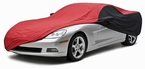 CoverKing Custom Car Covers 2-Tone Black Sides w/Red Center Stormproof Material #CVC3SP294