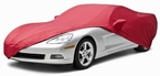 CoverKing Custom Car Covers Red Color Stretch Satin Material #CVC6SS94