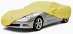 CoverKing Custom Car Covers Yellow Color Stretch Satin Material #CVC1SS93