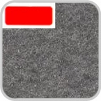 CoverKing Custom Floor Mats Charcoal 40 oz. Nylon Carpet 1-piece Strip #CFMCM2