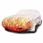 Flamed Car Cover