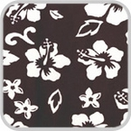 CoverKing Front Dash Cover Black, Hawaiian Design Velour Material #CDCA1