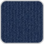 CoverKing Front Dash Cover Dark Blue Color Velour Material #CDCV8