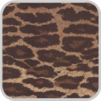 CoverKing Front Dash Cover Leopard Print Design Velour Material #CDCA21