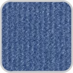CoverKing Front Dash Cover Medium Blue Color Velour Material #CDCV11