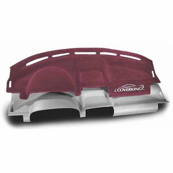 CoverKing Molded Front Dash Cover Wine Color Poly Carpet Material Formed Cover #MDCD6