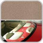 CoverKing Rear Cover Beige Color Velour Material #CRDV12