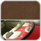 CoverKing Rear Cover Brown Color Velour Material #CRDV4