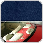 CoverKing Rear Cover Dark Blue Color Poly Carpet Material #CRDP8