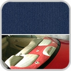 CoverKing Rear Cover Dark Blue Color Velour Material #CRDV8