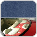 CoverKing Rear Cover Medium Blue Color Poly Carpet Material #CRDP11