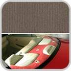 CoverKing Rear Cover Oak Color Velour Material #CRDV17