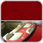 CoverKing Rear Cover Red Color Velour Material #CRDV7