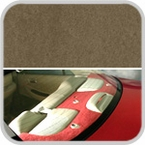 CoverKing Rear Cover Tan Color Poly Carpet Material #CRDP5