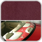 CoverKing Rear Cover Wine Color Poly Carpet Material #CRDP6
