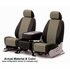 CoverKing Tailored Seatcovers 2-Tone Black Sides w/Taupe Inlay Spacer Mesh Material 1-Row Set #CSC2S9