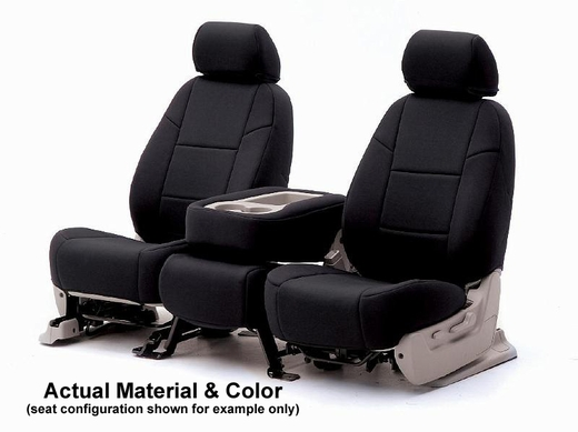 CoverKing Tailored Seatcovers Black Color Genuine CR Grade Neoprene 1-Row Set #CSCF1