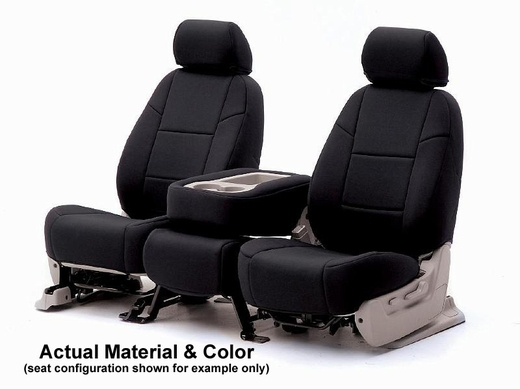 CoverKing Tailored Seatcovers Black Color NeoSupreme Material 1-Row Set #CSC2A1