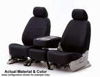 CoverKing Tailored Seatcovers Black Color Spacer Mesh Material 1-Row Set #CSC2S1