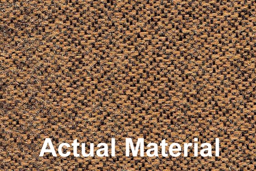 CoverKing Tailored Seatcovers Tan Color Tweed Material 1-Row Set #CSC1T5
