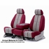 CoverKing Tailored Seatcovers Wine Color Saddleblanket Inlay Material w/NeoSupreme Sides 1-Row Set #CSC1D6