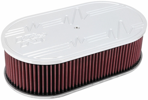 Custom Air Cleaner Assembly K&N #66-1500